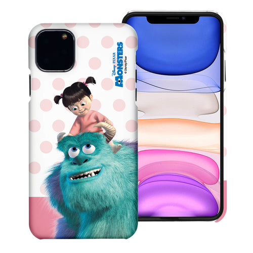 iPhone 11 Case (6.1inch) [Slim Fit] Monsters University inc Thin Hard Matte Surface Excellent Grip Cover - Movie Boo