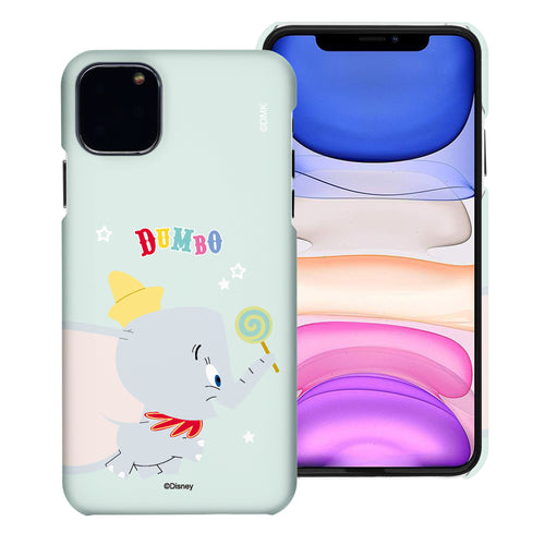 iPhone 12 mini Case (5.4inch) [Slim Fit] Disney Dumbo Thin Hard Matte Surface Excellent Grip Cover - Dumbo Candy