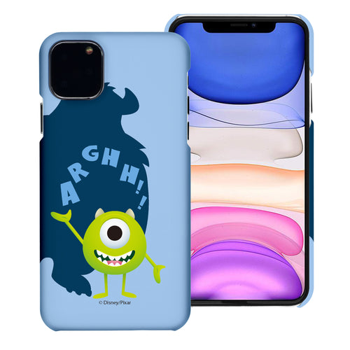 iPhone 11 Case (6.1inch) [Slim Fit] Monsters University inc Thin Hard Matte Surface Excellent Grip Cover - Simple Mike