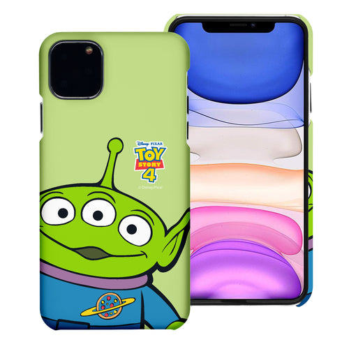 iPhone 11 Case (6.1inch) [Slim Fit] Toy Story Thin Hard Matte Surface Excellent Grip Cover - Wide Alien
