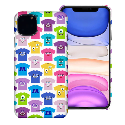 iPhone 11 Case (6.1inch) [Slim Fit] Monsters University inc Thin Hard Matte Surface Excellent Grip Cover - Pattern Shirts