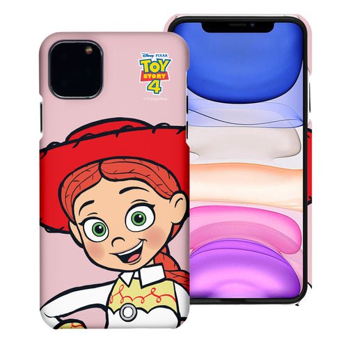 iPhone 11 Case (6.1inch) [Slim Fit] Toy Story Thin Hard Matte Surface Excellent Grip Cover - Wide Jessie