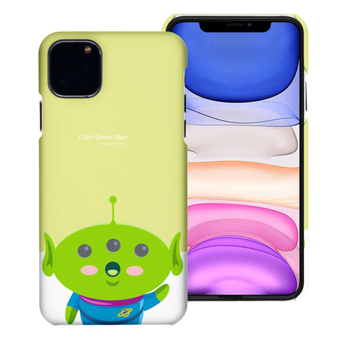 iPhone 11 Case (6.1inch) [Slim Fit] Toy Story Thin Hard Matte Surface Excellent Grip Cover - Baby Alien