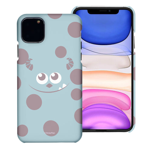 iPhone 11 Pro Max Case (6.5inch) [Slim Fit] Monsters University inc Thin Hard Matte Surface Excellent Grip Cover - Face Sulley
