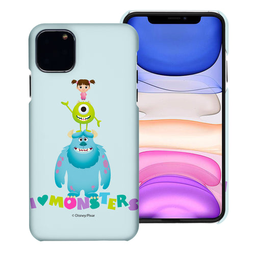 iPhone 11 Pro Max Case (6.5inch) [Slim Fit] Monsters University inc Thin Hard Matte Surface Excellent Grip Cover - Simple Together