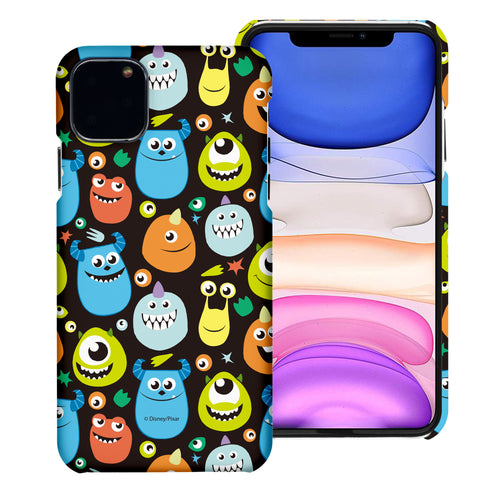iPhone 11 Case (6.1inch) [Slim Fit] Monsters University inc Thin Hard Matte Surface Excellent Grip Cover - Icon Monsters