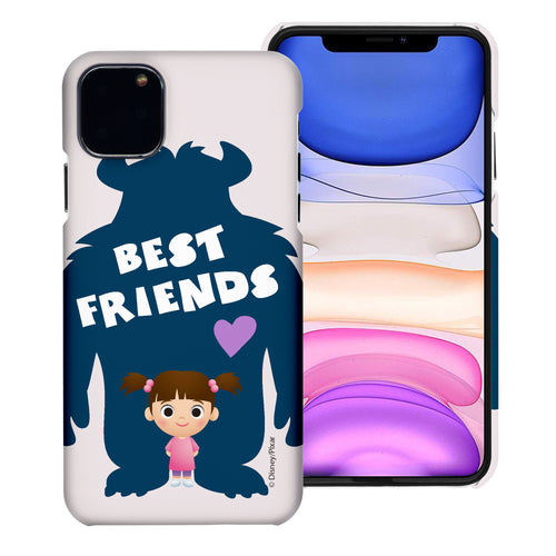 iPhone 11 Case (6.1inch) [Slim Fit] Monsters University inc Thin Hard Matte Surface Excellent Grip Cover - Simple Boo