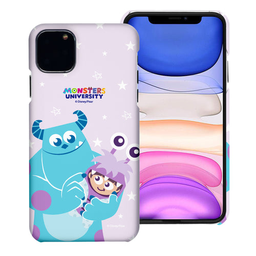 iPhone 11 Case (6.1inch) [Slim Fit] Monsters University inc Thin Hard Matte Surface Excellent Grip Cover - Full Boo