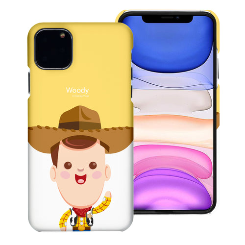 iPhone 11 Case (6.1inch) [Slim Fit] Toy Story Thin Hard Matte Surface Excellent Grip Cover - Baby Woody