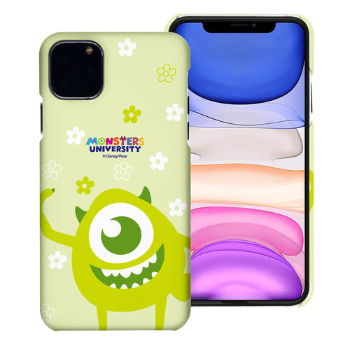 iPhone 11 Case (6.1inch) [Slim Fit] Monsters University inc Thin Hard Matte Surface Excellent Grip Cover - Full Mike