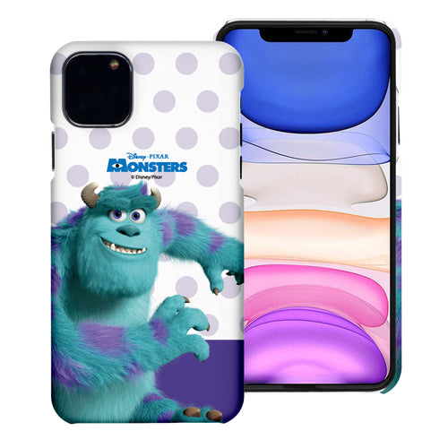 iPhone 11 Case (6.1inch) [Slim Fit] Monsters University inc Thin Hard Matte Surface Excellent Grip Cover - Movie Sulley