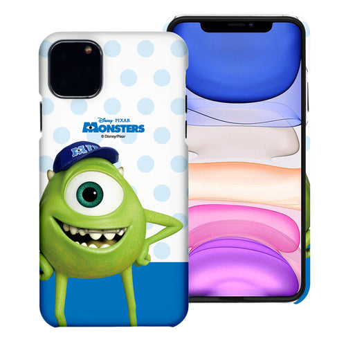 iPhone 11 Case (6.1inch) [Slim Fit] Monsters University inc Thin Hard Matte Surface Excellent Grip Cover - Movie Mike