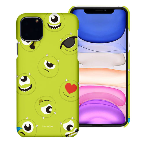 iPhone 11 Case (6.1inch) [Slim Fit] Monsters University inc Thin Hard Matte Surface Excellent Grip Cover - Pattern Mike
