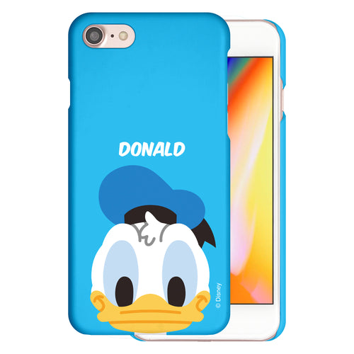 iPhone 5S / iPhone 5 / iPhone SE (2016) Case [Slim Fit] Disney Thin Hard Matte Surface Excellent Grip Cover - Baby Face Donald Duck