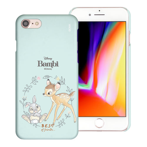 iPhone 6S Plus / iPhone 6 Plus Case [Slim Fit] Disney Bambi Thin Hard Matte Surface Excellent Grip Cover - Full Bambi Thumper