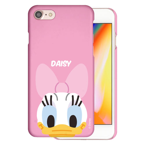 iPhone 5S / iPhone 5 / iPhone SE (2016) Case [Slim Fit] Disney Thin Hard Matte Surface Excellent Grip Cover - Baby Face Daisy Duck