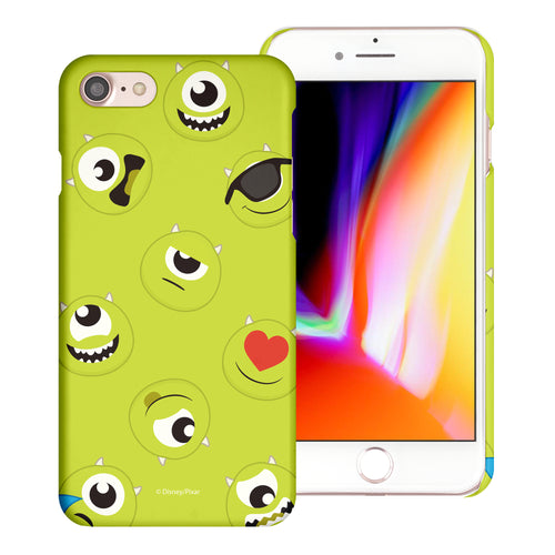iPhone 8 Plus / iPhone 7 Plus Case [Slim Fit] Monsters University inc Thin Hard Matte Surface Excellent Grip Cover - Pattern Mike
