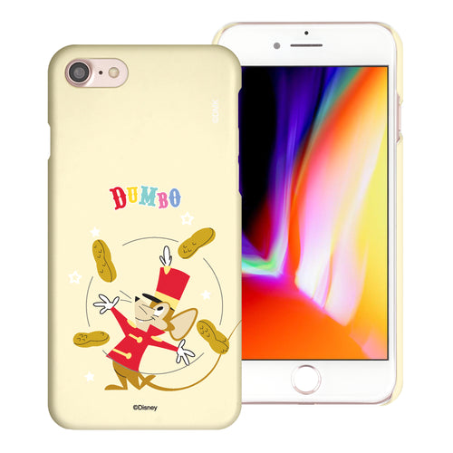 iPhone SE 2020 / iPhone 8 / iPhone 7 Case (4.7inch) [Slim Fit] Disney Dumbo Thin Hard Matte Surface Excellent Grip Cover - Dumbo Timothy
