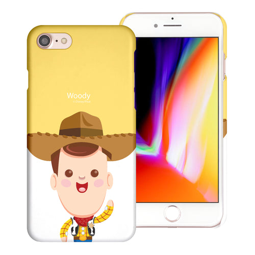 iPhone 8 Plus / iPhone 7 Plus Case [Slim Fit] Toy Story Thin Hard Matte Surface Excellent Grip Cover - Baby Woody