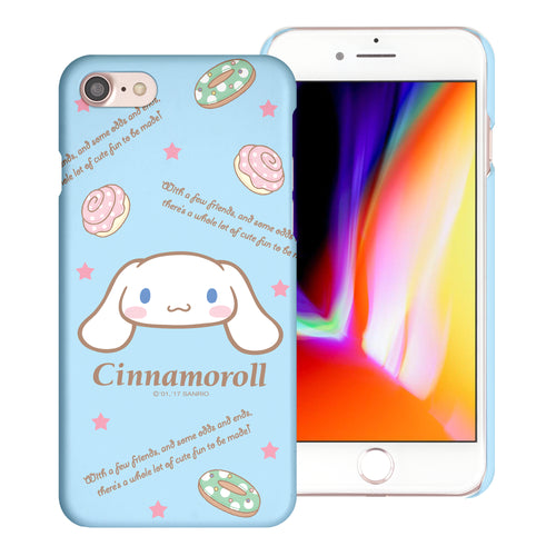 iPhone 6S / iPhone 6 Case (4.7inch) [Slim Fit] Sanrio Thin Hard Matte Surface Excellent Grip Cover - Icon Cinnamoroll