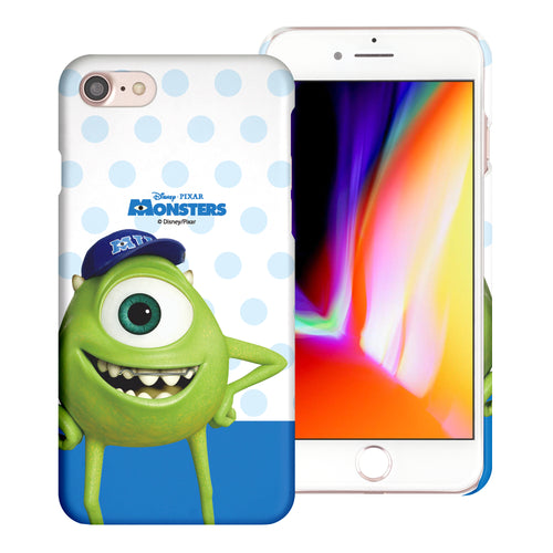 iPhone 8 Plus / iPhone 7 Plus Case [Slim Fit] Monsters University inc Thin Hard Matte Surface Excellent Grip Cover - Movie Mike