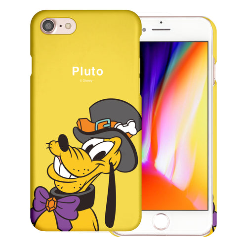 iPhone 5S / iPhone 5 / iPhone SE (2016) Case [Slim Fit] Disney Thin Hard Matte Surface Excellent Grip Cover - Festival Pluto
