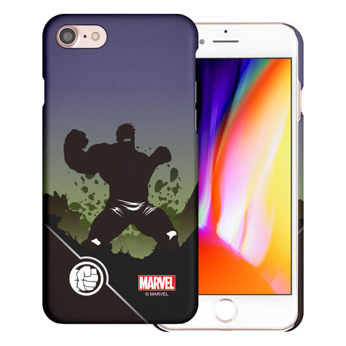 iPhone 8 Plus / iPhone 7 Plus Case Marvel Avengers [Slim Fit] Thin Hard Matte Surface Excellent Grip Cover - Shadow Hulk