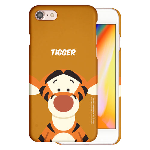 iPhone 5S / iPhone 5 / iPhone SE (2016) Case [Slim Fit] Disney Thin Hard Matte Surface Excellent Grip Cover - Baby Face Tigger