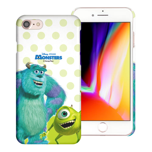 iPhone 8 Plus / iPhone 7 Plus Case [Slim Fit] Monsters University inc Thin Hard Matte Surface Excellent Grip Cover - Movie Mike Sulley