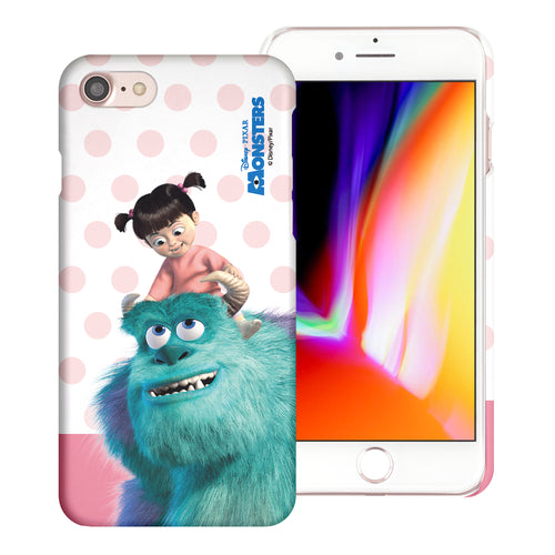iPhone 8 Plus / iPhone 7 Plus Case [Slim Fit] Monsters University inc Thin Hard Matte Surface Excellent Grip Cover - Movie Boo