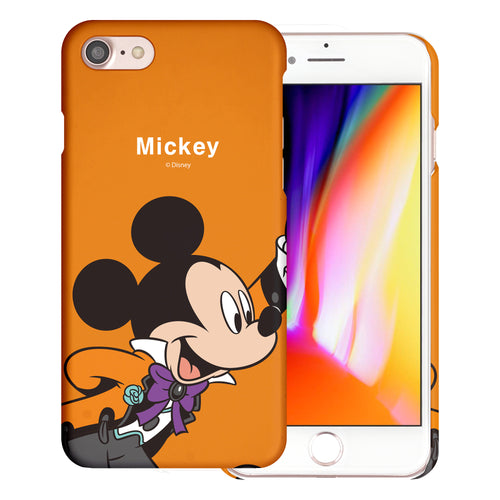 iPhone 5S / iPhone 5 / iPhone SE (2016) Case [Slim Fit] Disney Thin Hard Matte Surface Excellent Grip Cover - Festival Mickey Mouse