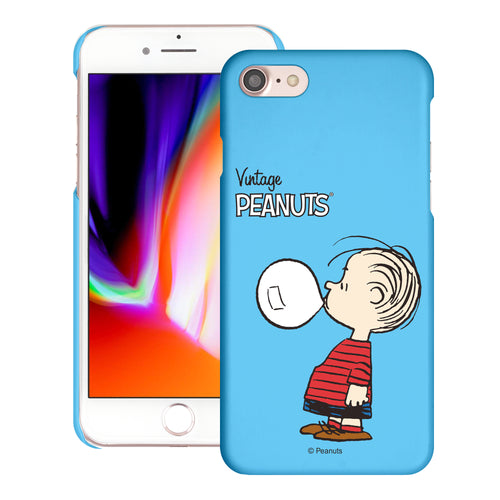 iPhone 6S / iPhone 6 Case (4.7inch) [Slim Fit] PEANUTS Thin Hard Matte Surface Excellent Grip Cover - Simple Linus
