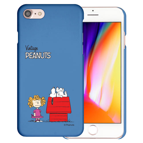 iPhone 6S / iPhone 6 Case (4.7inch) [Slim Fit] PEANUTS Thin Hard Matte Surface Excellent Grip Cover - Small Snoopy House