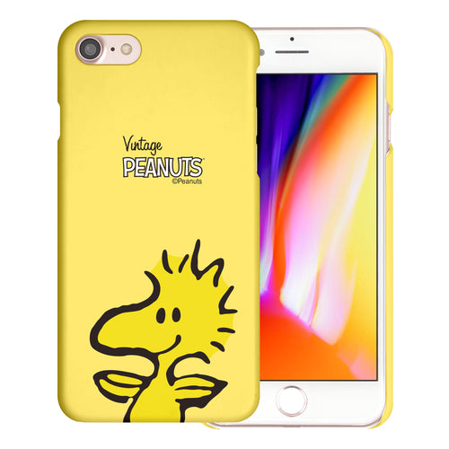 iPhone 6S / iPhone 6 Case (4.7inch) [Slim Fit] PEANUTS Thin Hard Matte Surface Excellent Grip Cover - Face Woodstock