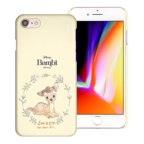 iPhone SE 2020 / iPhone 8 / iPhone 7 Case (4.7inch) [Slim Fit] Disney Bambi Thin Hard Matte Surface Excellent Grip Cover - Full Bambi