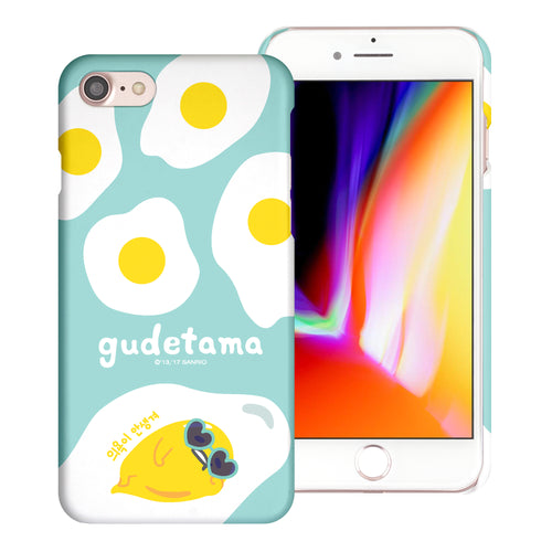 iPhone 6S / iPhone 6 Case (4.7inch) [Slim Fit] Sanrio Thin Hard Matte Surface Excellent Grip Cover - Rest Gudetama Mint