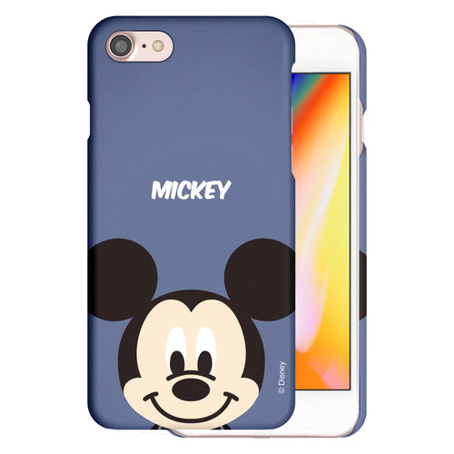 iPhone 5S / iPhone 5 / iPhone SE (2016) Case [Slim Fit] Disney Thin Hard Matte Surface Excellent Grip Cover - Baby Face Mickey Mouse