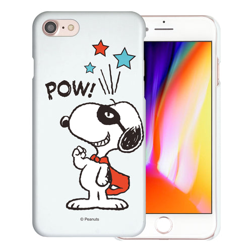 iPhone 6S / iPhone 6 Case (4.7inch) [Slim Fit] PEANUTS Thin Hard Matte Surface Excellent Grip Cover - Snoopy Pow Mint