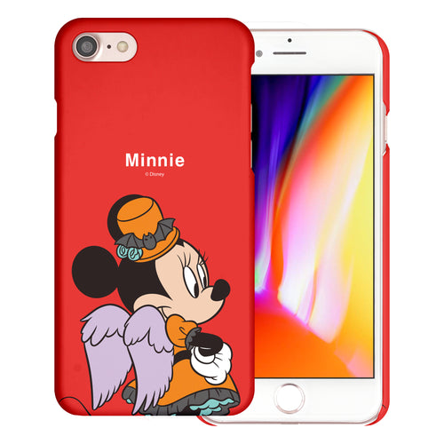 iPhone 5S / iPhone 5 / iPhone SE (2016) Case [Slim Fit] Disney Thin Hard Matte Surface Excellent Grip Cover - Festival Minnie Mouse