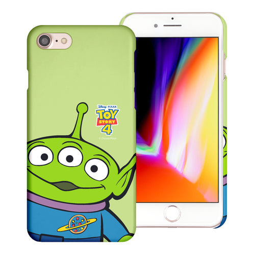 iPhone 8 Plus / iPhone 7 Plus Case [Slim Fit] Toy Story Thin Hard Matte Surface Excellent Grip Cover - Wide Alien