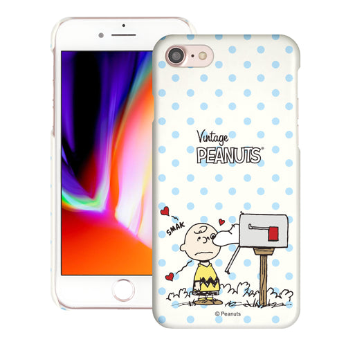 iPhone 6S / iPhone 6 Case (4.7inch) [Slim Fit] PEANUTS Thin Hard Matte Surface Excellent Grip Cover - Smack Charlie Brown Mailbox