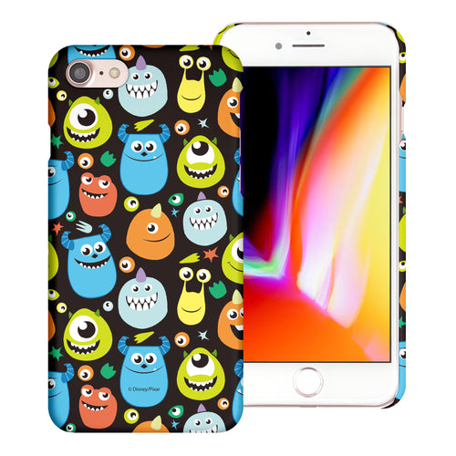 iPhone 8 Plus / iPhone 7 Plus Case [Slim Fit] Monsters University inc Thin Hard Matte Surface Excellent Grip Cover - Icon Monsters