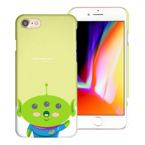 iPhone 8 Plus / iPhone 7 Plus Case [Slim Fit] Toy Story Thin Hard Matte Surface Excellent Grip Cover - Baby Alien