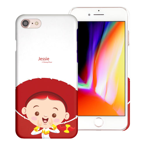 iPhone 8 Plus / iPhone 7 Plus Case [Slim Fit] Toy Story Thin Hard Matte Surface Excellent Grip Cover - Baby Jessie