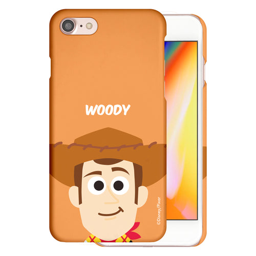 iPhone 5S / iPhone 5 / iPhone SE (2016) Case [Slim Fit] Disney Toy Story Thin Hard Matte Surface Excellent Grip Cover - Baby Face Woody