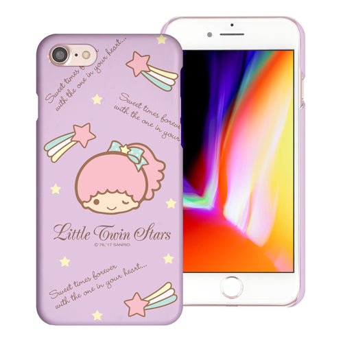 iPhone 6S / iPhone 6 Case (4.7inch) [Slim Fit] Sanrio Thin Hard Matte Surface Excellent Grip Cover - Icon Little Twin Stars Lala