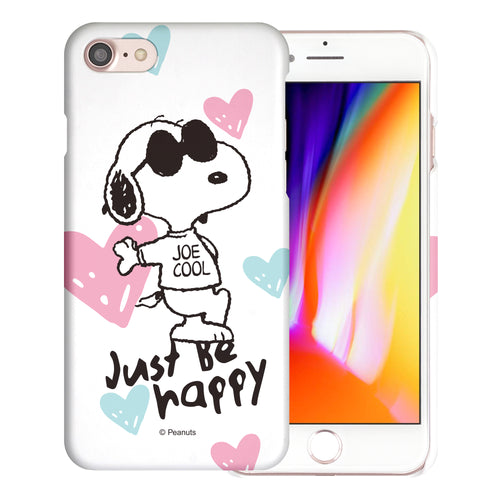 iPhone 6S / iPhone 6 Case (4.7inch) [Slim Fit] PEANUTS Thin Hard Matte Surface Excellent Grip Cover - Snoopy Love Pink
