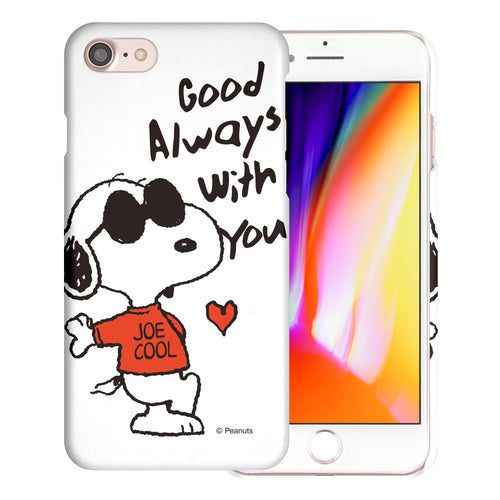 iPhone 6S / iPhone 6 Case (4.7inch) [Slim Fit] PEANUTS Thin Hard Matte Surface Excellent Grip Cover - Snoopy Love Red