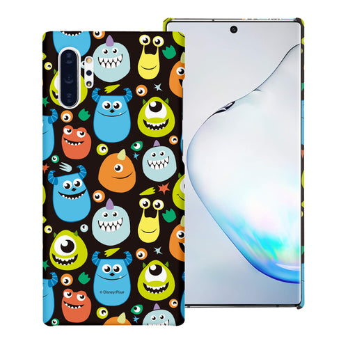 Galaxy Note10 Case (6.3inch) [Slim Fit] Monsters University inc Thin Hard Matte Surface Excellent Grip Cover - Icon Monsters