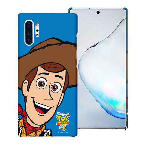 Galaxy Note10 Case (6.3inch) [Slim Fit] Toy Story Thin Hard Matte Surface Excellent Grip Cover - Wide Woody
